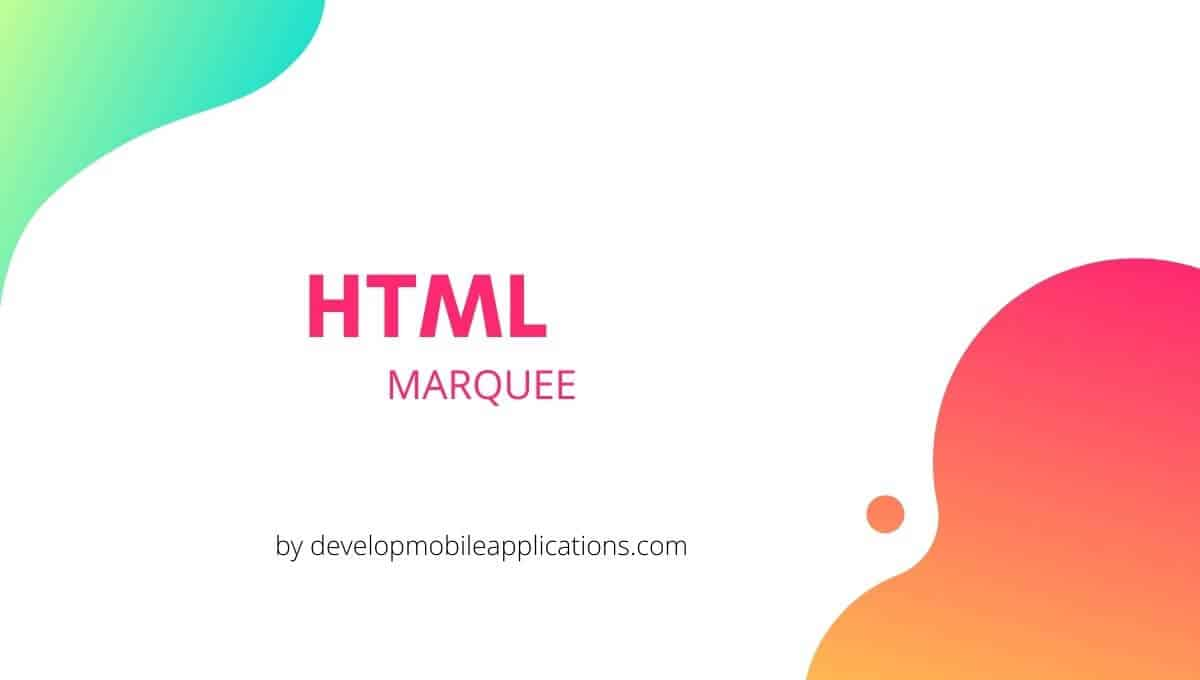 HTML_MARQUEE