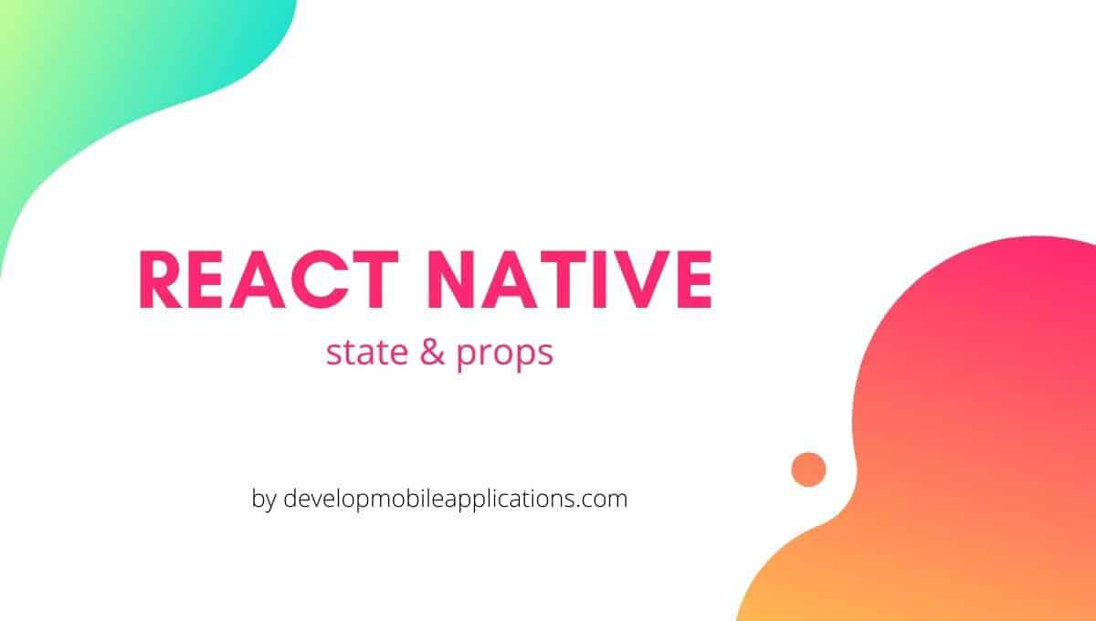state & props in react native